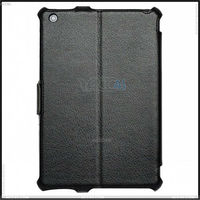 Stand Leather Covers with hand strap case for ipad mini