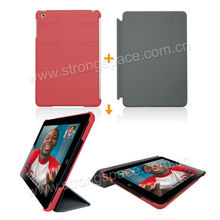 New Red cover for iPad Hard Protective Smart Case