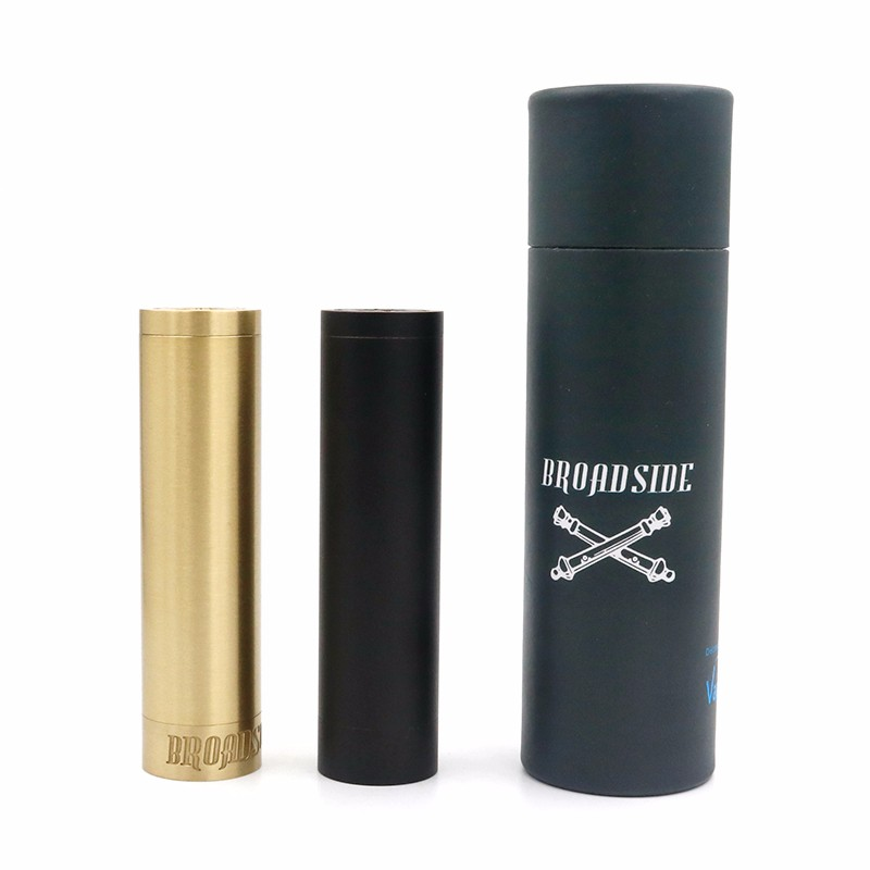 best bulk hottest broadside e-cigarette mechanical broadside mod in quality tube vapor