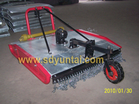 tractor lawn mower rotary slasher galvanized