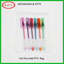 Promotional Mini Glitter Gel Ink Ballpoint Pen For Colorful Writing
