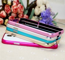 Wholesale low price Aluminum metal bumper case for S4 mini Samsung galaxy S4