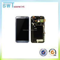 Lowest lcd for galaxy note 1 N7000 lcd digitizer for samsung note 1 lcd screen paypal accept