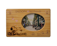 Snoopy cartoon children sell like hot cakes desktop wooden picture frame