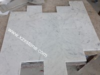 Competitive carrara white marble price