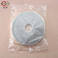 Adhesive hook and loop tape for mosquito net window