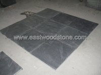 natural cleft calibrated black slate tile