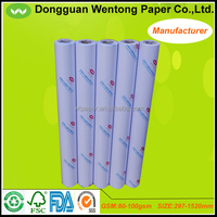 80gsm white autocad drawing paper 50m for engineering drawing