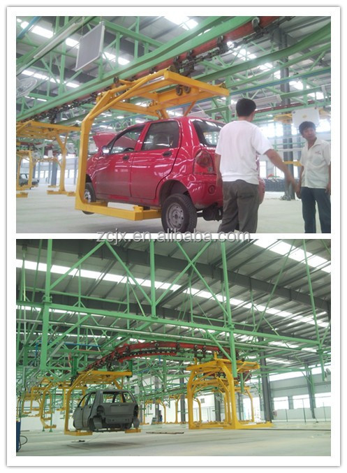 Automatic car assembly line for sale
