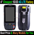 Cheapest factory 4 inch 4G LTE android rugged barcode scanner uhf rfid reader pda