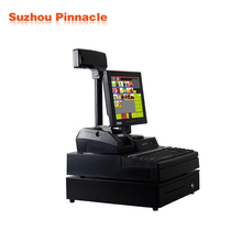 factory price grocery store computer pc pos machine cheap with 58mm thermal printer, retail software