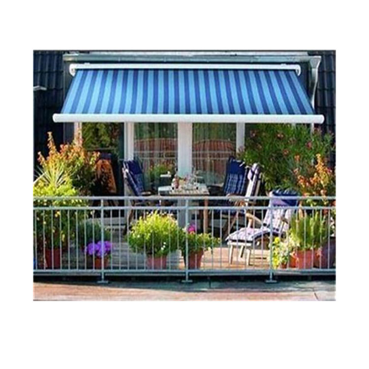 Patio Sunshade Protect Electric Retractable Cassette Awnings With Wind  Sensor   Buy Awnings Wind Sensor,Electric Cassette Awnings,Electric Awnings  ...