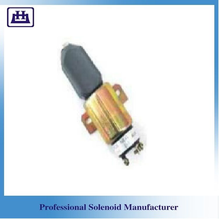 For Komatsu SPA 90902NI diesel engine fuel cut solenoid SA-3933-24 SA-3766T-24