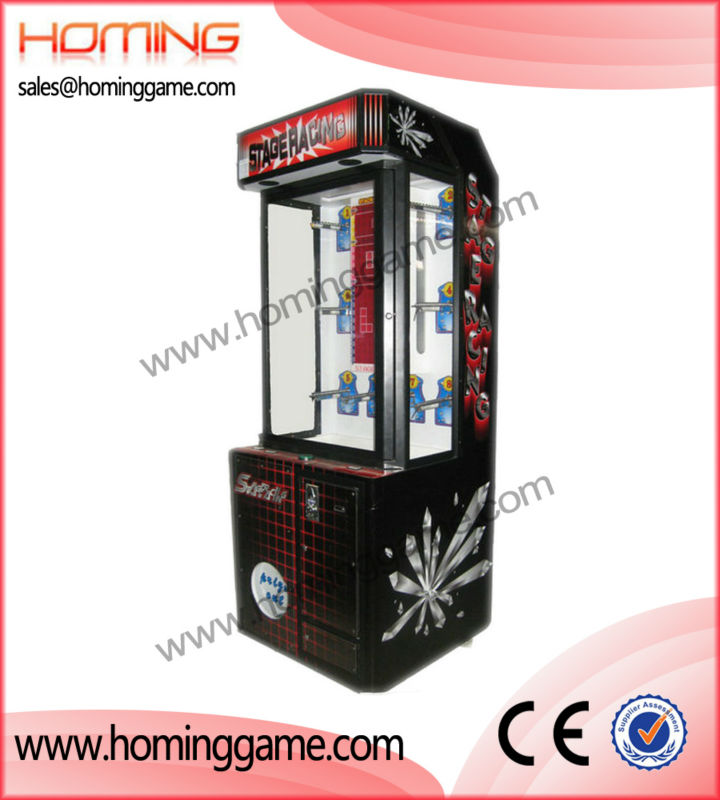 Newest prize game machine,Build a brick stacker game machine