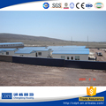 China manufacturer steel structure factory camp site prefabricated shed