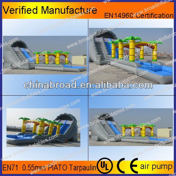Durable water slide,wooden slides for adult and kids