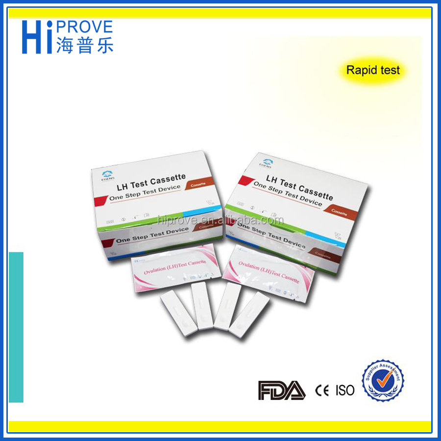 hcg pregnancy lh ovulation rapid test kit