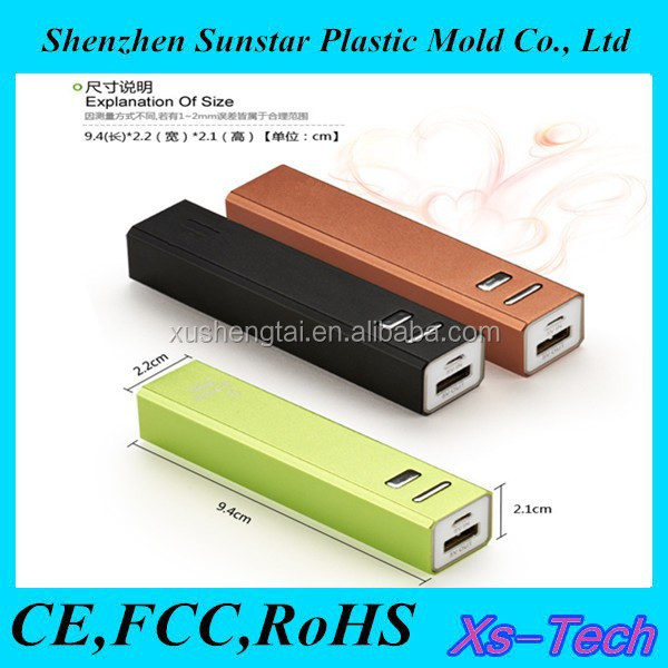High quality perfume power bank portable 2600mAh power bank,external battery charger for Samsung galaxy s3