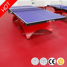 Fireproof moisture-proof table tennis pvc sports flooring/ping pong mat for sale