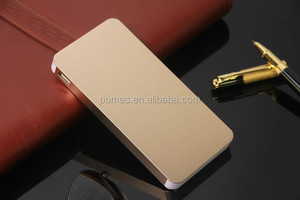 super slim stainless metal battery case 20000mah universal power bank