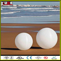 16 color changing plastic led beach ball decorative outdoor ball light led