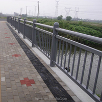 FRP GRP Fiberglass Foot Bridge Traffic Guardrail Handrail