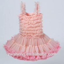 Wholesale sleeve less children girl prom dresses girl party dress kids layers ruffle dresses