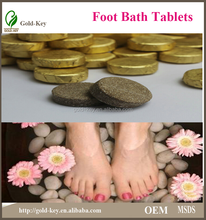 health care product of foot care: foot bath effervescent tablets, relieving the fatigue, reliveing foot skin peeling