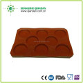 Silicone baking pan/silicone coated fiberglass bread form