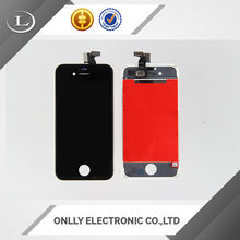On sale Newest screen for iphone 4s screen front glass touch for iphone 4s with parts phone spare parts screen