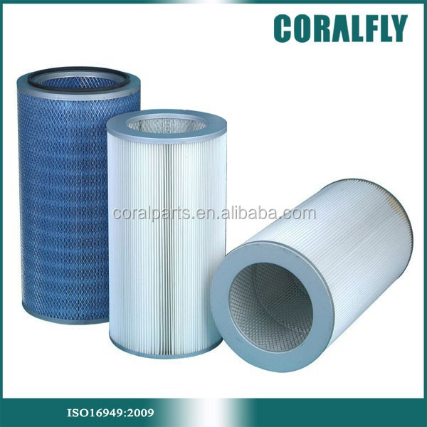 Flame Retardant material industrial filter high quality cartridge air filter