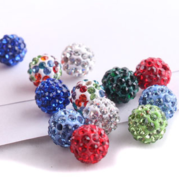 12mm 14mm rhinestone ball spike rhinestone beads