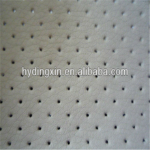 PVC Eyelet Artificial Leather for Car Seat Cover