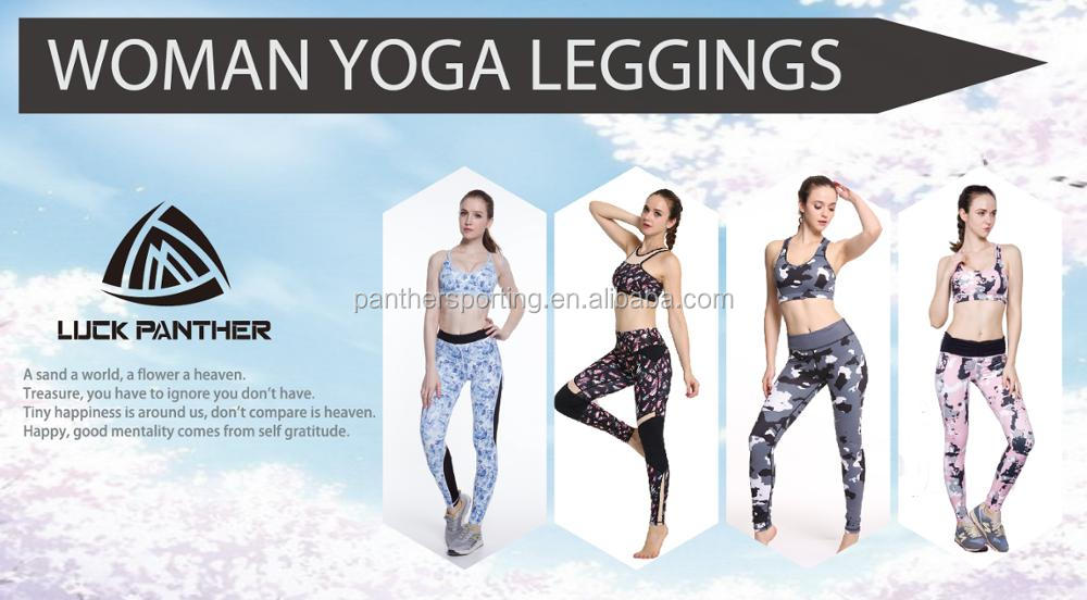 Fitness Sport Pants Yoga Pants Leggings Sportswear Type Yoga Pants Spandex Material Fitness Wear Gym