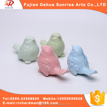 wholesale Small and exquisite ceramic bird arts and crafts for gift and decor