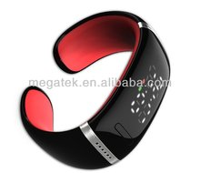 LED wireless vibrating bluetooth bracelet