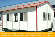 East assembly construction site prefabricated temporary house