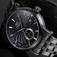 2016 New Fashion Black Mens Stainless Steel Automatic Mechanical Analog Unisex Watch WM452
