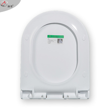 Quickly release and soft closing D shape toilet seat cover TWTS8110