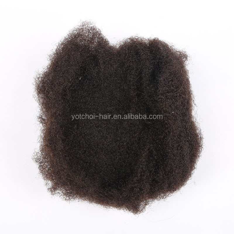no shedding!Yotchoi hair Factory stock 100% malaysian virgin human hair afro kinky curl hair weave