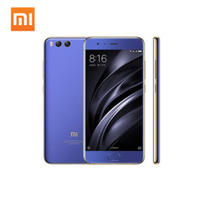 "Original Xiaomi Mi6 Mi 6 Mobile Phone Snapdragon 835 6GB RAM 64GB/128GB ROM 5.15"" Dual Camera 12MP 1920x1080p NFC Type C MI 6"