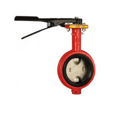 air condition soft seal flange butterfly valve