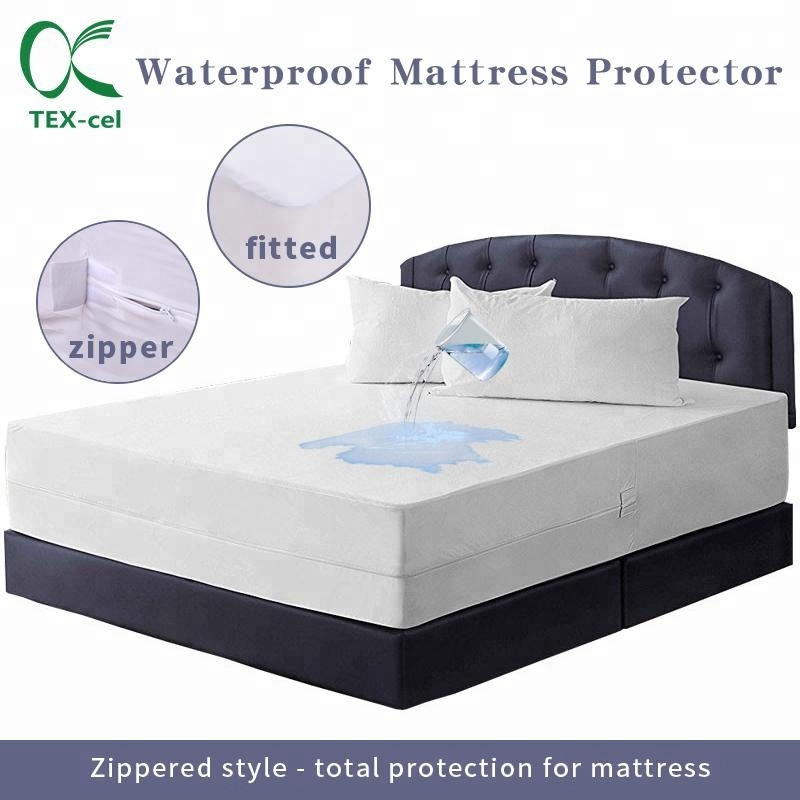 Waterproof/Bed Bug/Dust Mites Zippered Mattress Encasement & Hypoallergenic Protector - Jozy Mattress | Jozy.net