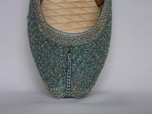 Indian Beaded Ladies Shoes