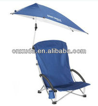 Double Folding Chair w Umbrella Table Cooler Fold Up Beach Camping Chair