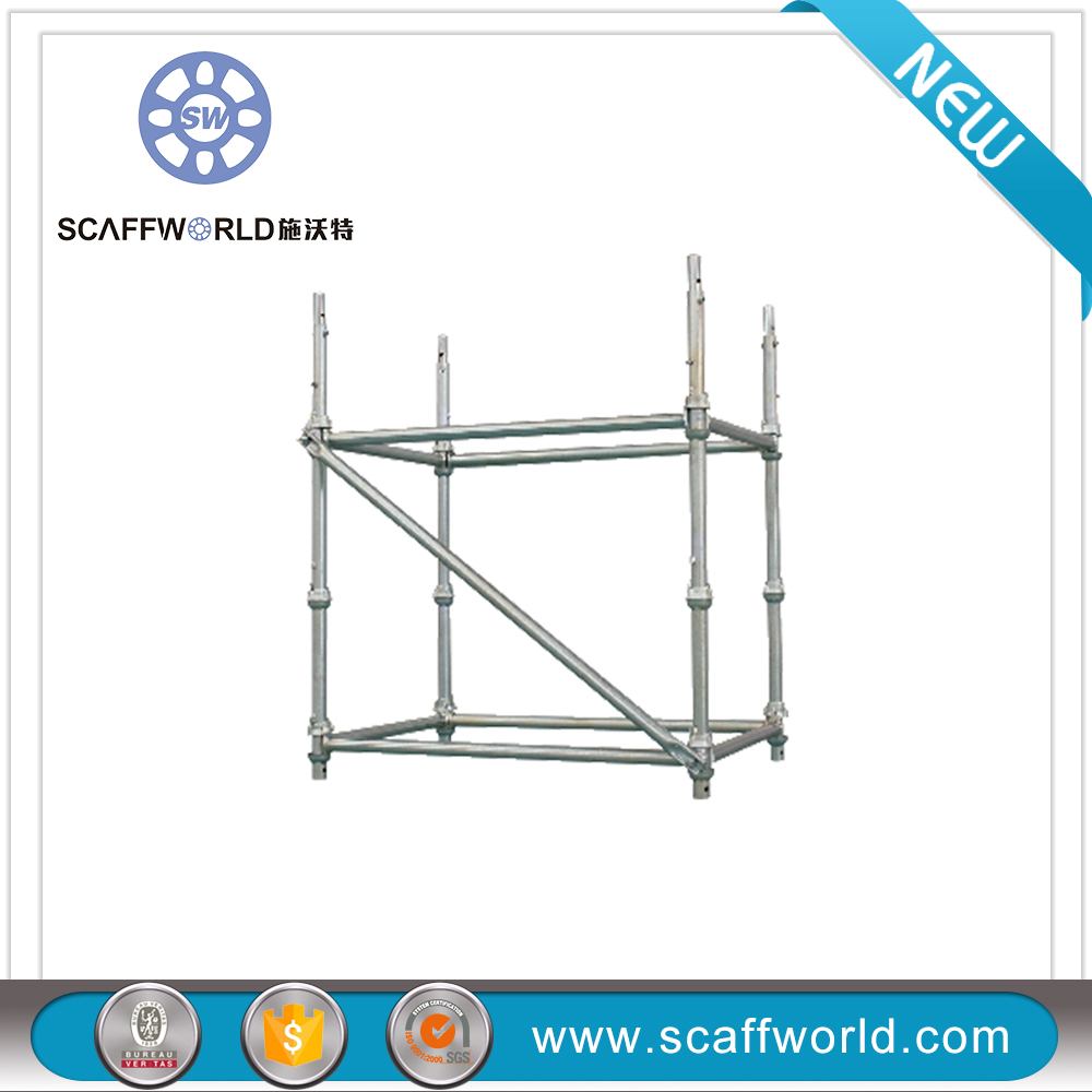 Q235 Different Types Of Cuplock Scaffold For Building Construction