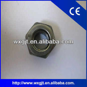 High-strength hex nuts DIN6915 with large widths across flats for structural steel bolting