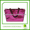 Durable thermal insulated shopping bags