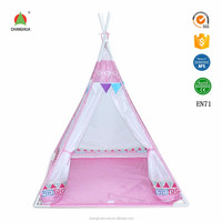 Convenient polyester play tent for kids outdoor houses