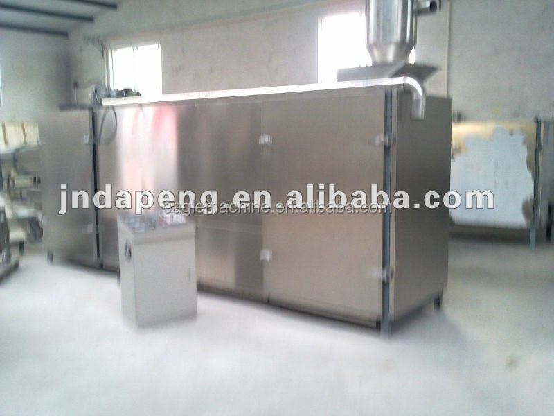 CE ISO BV certificate puff corn snack/fish feed /pellet food roasting Oven/dryer machine supplier in china